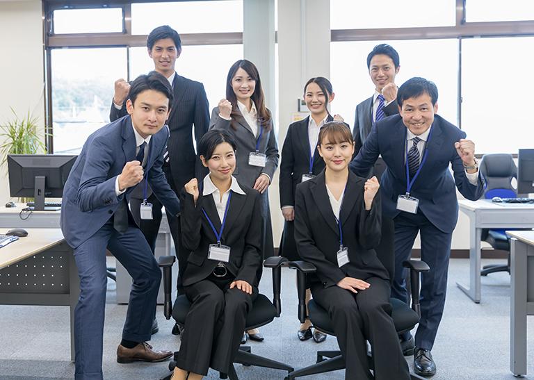 全社でフォローすれば新入社員の育成も捗る